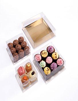 Chocolatebox PVC sqr rect
