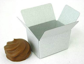 Box 1 choc, silvertin