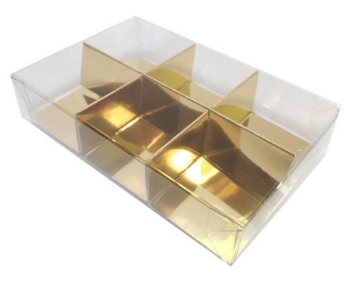 PVC box 6 division with divider included