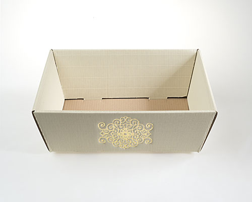Basket rectangular medium 350x210x110mm beige signum