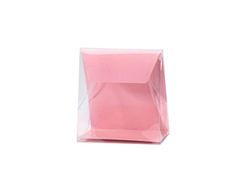 Pochette transparant L100xW50/H110mm lotus