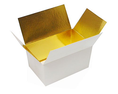 Ballotin, 125 gr. whiteshine - gold