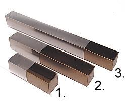 truffelbox 12 339x30x30mm bronztwist