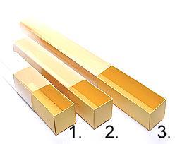 truffelbox 12 339x30x30mm goldyellow